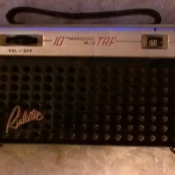 Realistic 10 plus TRF (95L-020) transistor radio