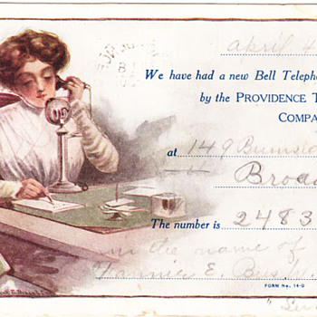 Providence Telephone Postcards - Telephones
