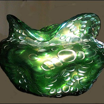 CRETA  DIASPORA  VASE - Art Glass