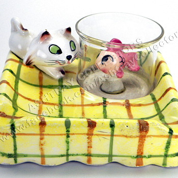 Menschik-Goldman Cat - Fishbowl Ashtray - Tobacciana