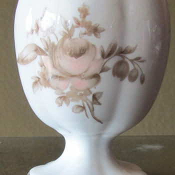 Rosenthal Colonial Rose Cigarette Lighter Base - Tobacciana