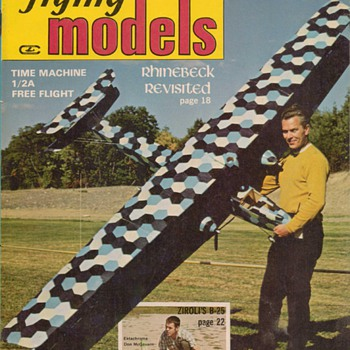 1970-1972 Flying Models magazines - Paper