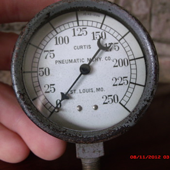 Old Curtis air compressor gauge - Tools and Hardware