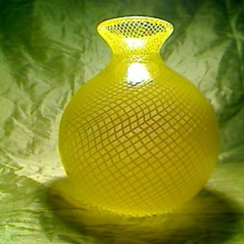 Yellow glass - Art Glass