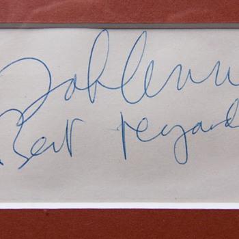 John Lennon autograph - circa. 1975
