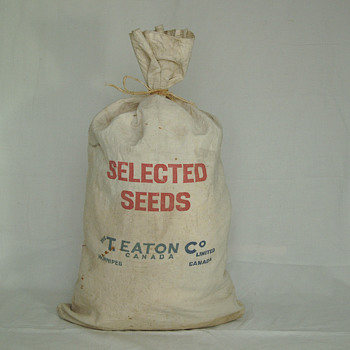 The T. Eaton Co Limited, Winnipeg Seed Bag