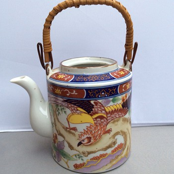 Antique Japanese teapot