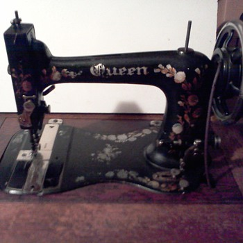 Antique Queen Sewing Machine - Sewing