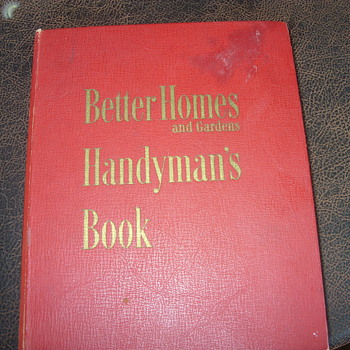 1951 better homes and garden handy man book - Books