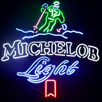 Michelob Light Ski Neon - Signs