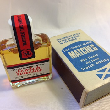 The Smallest Bottle Of Scotch Whisky In The World