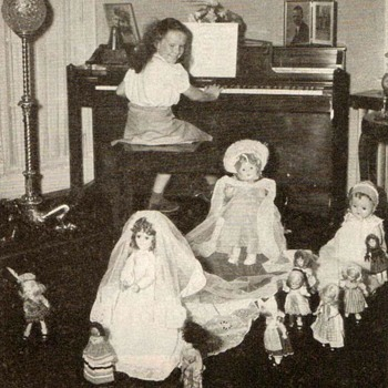 "1949 - ""Childcraft"" - Girls with Dolls Photographs"