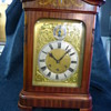 Gustave Becker Mantle Clock