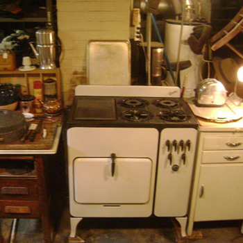 1935 model 74 Chambers Gas Stove - Kitchen