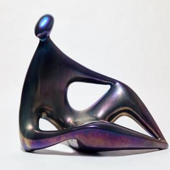 JANOS TOROK 1932-1996  FOR  ZSOLNAY-HUNGARY - Art Pottery