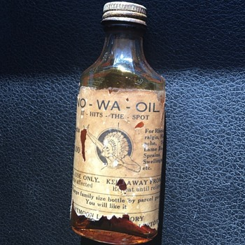 Na-Wa-Oil medicine bottle - Bottles
