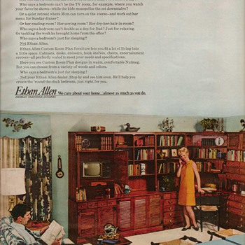 1968 - Ethan Allen Furniture Advertisement - Advertising