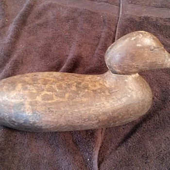 very old working decoy - Outdoor Sports