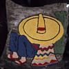 Mexican Siesta - themed throw pillow