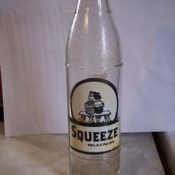Squeeze Soda Bottle