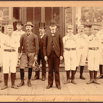 Family Photograph - Baseball Team - Photographs