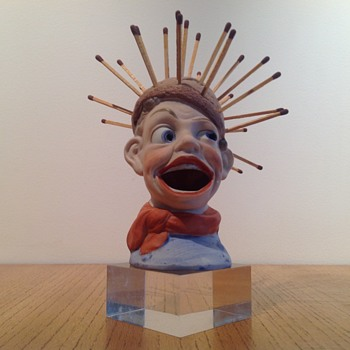 SCHÄFER & VATER GROTESQUE BOY #2 - Art Pottery
