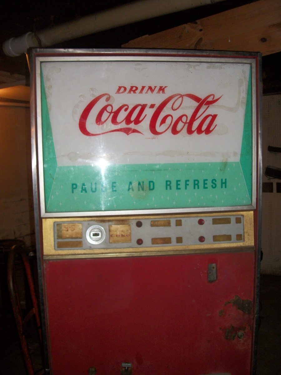 how much is an coke machine worth