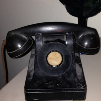Antique Desk Phone - Telephones
