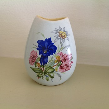 Cute little hand painted vase