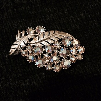 Coro marked Brooch - Costume Jewelry