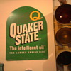 "Quaker State sign and a 60""s era stop light in the garage...  You'll know it's our house!"