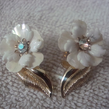 Coro earrings - Costume Jewelry