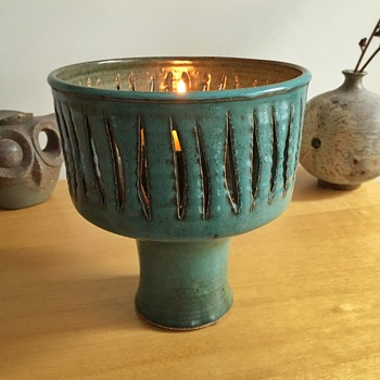 Mid century votive holder