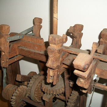 Six Figure Wood Whirligig