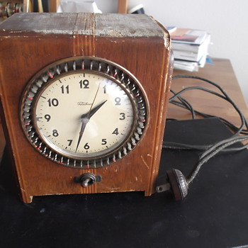 Vintage Telechron Electric Clock/Timer - Clocks
