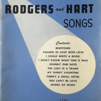 Rogers and Hart Song Book