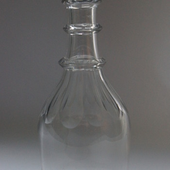 Irish Carafe - Art Glass