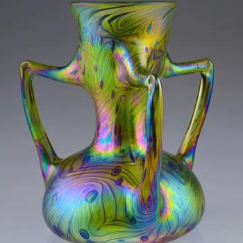 Modern Czech small vase