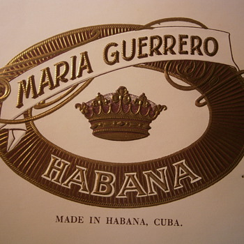 Cuban ratings - Tobacciana