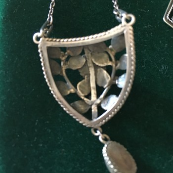 Arts & Crafts pendants by the Artificers Guild - Arts and Crafts