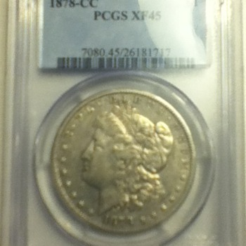1878 Carson City Morgan Dollar - US Coins