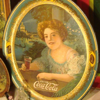 Coca-Cola trays