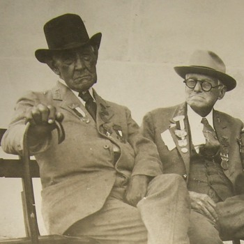 Two old Confederate Veterans photograph
