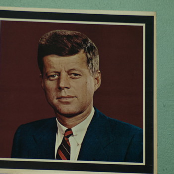 PRESIDENT JOHN F. KENNEDY