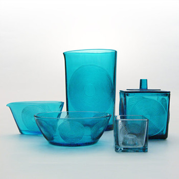 SKJOLD set, Per Ltken (Holmegaard, 1960) - Art Glass