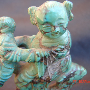 Jade Chinese Figurine Antique? Jade? Chinese? - Asian