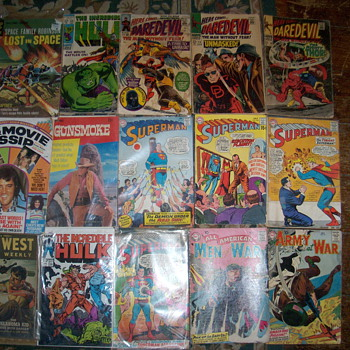 comic book lot some 10 cent - Comic Books