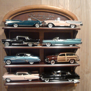 Cars of the fifties...Can you spot the promo vs. Franklin Mint cars?