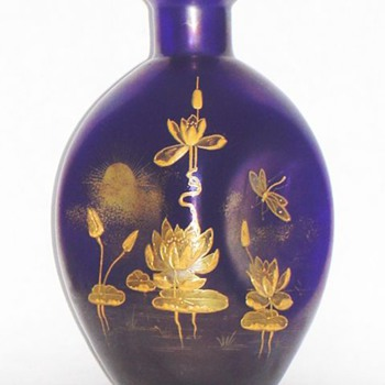 MYSTERIES OF BOHEMIAN GLASS: LOETZ ENAMELING. - Art Glass