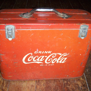 COCA-COLA AIRLINE COOLER